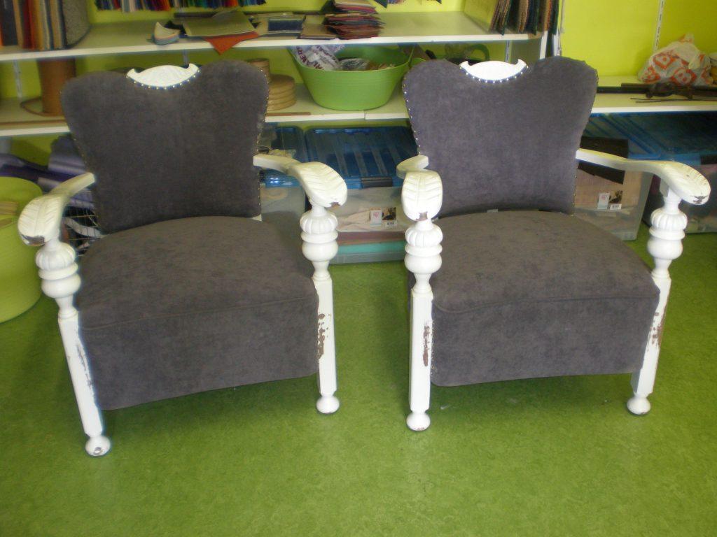 2x fauteuil als nieuw